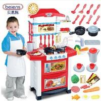 贝恩施 怀乐 过家家儿童玩具过家家厨房玩具套装宝宝做饭煮饭厨具