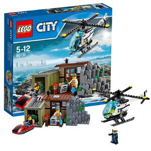 [当当自营]LEGO 乐高 城市系列 坏蛋岛 积木拼插儿童益智玩具 60131