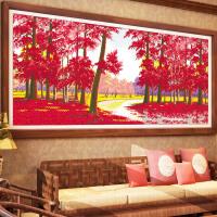 悟客/wuke精准印花十字绣鸿运当头套件大幅新款客厅画书房卧室2.3米简约现代风景系列