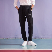 李宁训练系列舒适男装罗纹收口运动卫裤AKLK373