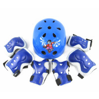 儿童轮滑护具套装儿童护具滑板旱冰溜冰鞋护具轮滑头盔7件套装