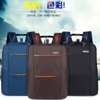 申派简约商务双肩包男士旅行包女休闲韩版手提电脑背包14/15.6寸   SP-BZ-550