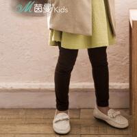 茵曼童装旗舰店 春冬中大女童长裤打底裤小脚裤【3861091044】