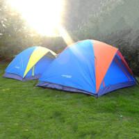 帐篷户外3-4人双层野营防雨双人单人露营帐篷套装