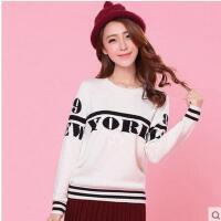 少女毛衣韩版甜美少女修身针织衫百搭打底毛衣