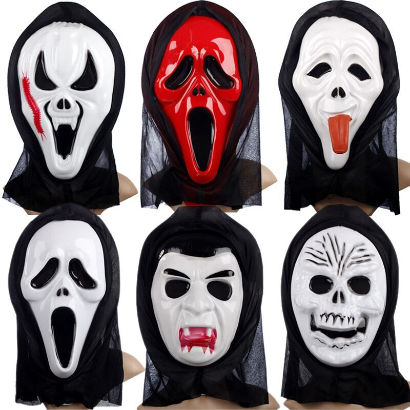 【爱新奇创意玩具】面具鬼面具恐怖面具头套魔鬼面具