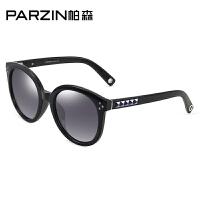 帕森新款时尚复古偏光太阳镜 女士潮墨镜 司机开车驾驶镜9523