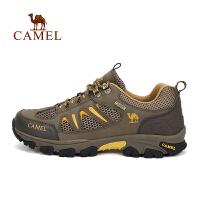 【领券满299减200】camel骆驼户外情侣款款徒步鞋 男女款耐磨透气徒步鞋