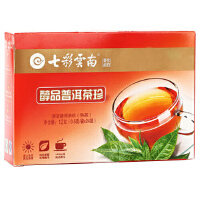 [当当自营]七彩云南 醇品普洱茶珍(熟茶)12g