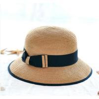 新款礼帽 小辣椒女士大沿草帽 沙滩帽太阳帽 防晒遮阳帽子