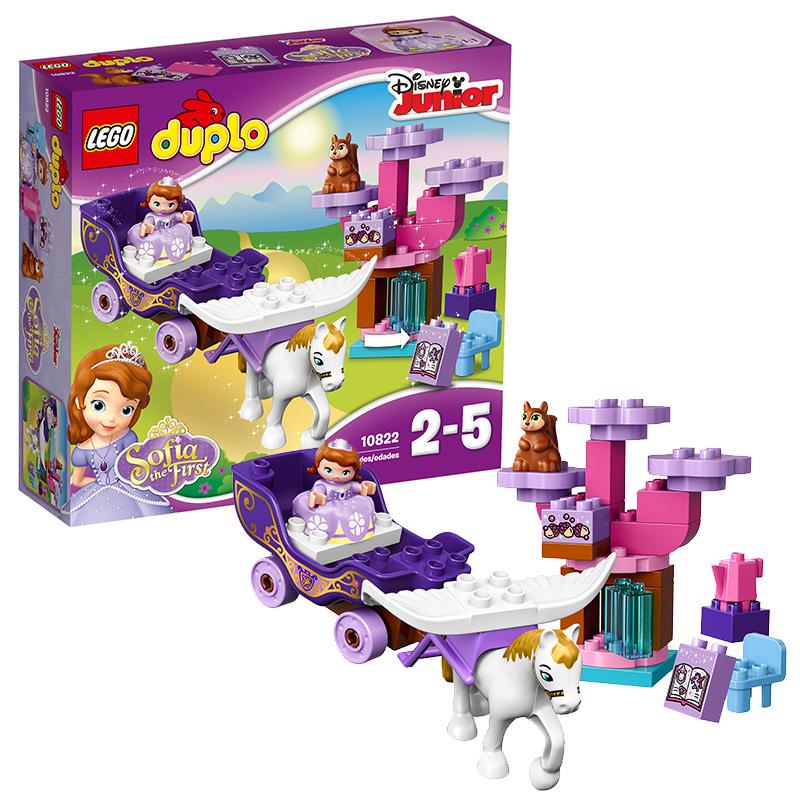 [当当自营]LEGO 乐高 DUPLO得宝系列 小公主苏菲亚?的第一辆魔法马车 积木拼插儿童益智玩具10822【当当自营】适合2-5岁,30pcs小颗粒积木