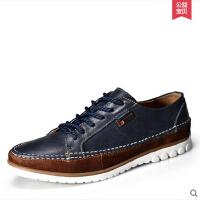古奇天伦男鞋英伦风日常休闲男鞋单鞋真皮皮鞋鞋子男5723