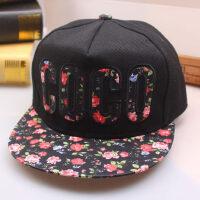 男士遮阳棒球帽女士鸭舌帽嘻哈帽潮休闲时尚防晒太阳帽平沿天才帽