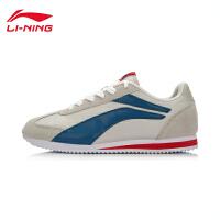 李宁男鞋运动生活系列轻质轻便复古经典休闲鞋男子运动鞋ALCK151