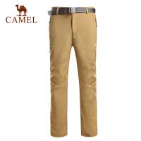 camel骆驼户外男 速干裤春夏新款 排汗透气 徒步露营必备速干长裤