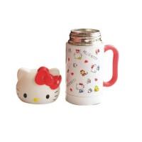 日照鑫 包邮 卡通hello kitty儿童学生不锈钢保温杯女水杯便携 可爱随手杯杯子(一个装)