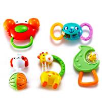 Auby 澳贝 摇铃系列 5只装摇铃 婴儿玩具 463133