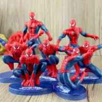 电影复仇者联盟2 超级英雄 神奇超凡蜘蛛侠公仔摆件 手办模型玩具