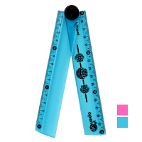 Maped 马培德 30cm可折叠直尺 随机颜色发货 CH281010