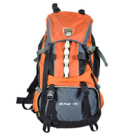 ONEPOLAR 极地 户外大型登山包 可调节背负系统1260 容量60L 户外背包徒步旅行包大容量