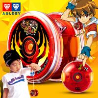 奥迪双钻火力少年王5传奇再现悠悠球V赤炎战虎S溜溜球儿童玩具