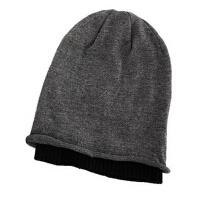 男士 针织帽毛线帽  堆堆帽羊毛套头帽    帽子男韩版潮   嘻哈帽
