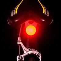 自行车LED安全警示灯 单车前灯 喜洋洋车尾灯 骑车必备双色