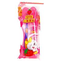 [当当自营] 黑人 宝贝兔牙膏牙刷 儿童套装(宝贝兔草莓味牙膏40g+精灵宝贝兔牙刷)