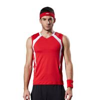 男士训练运动服健身背心训练健身房工作服 健身教练服