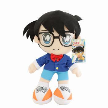 可爱 名侦探柯南公仔 毛绒玩具 公仔 布娃娃 玩偶 生日礼物