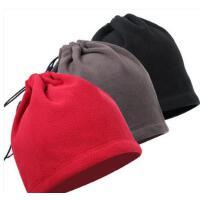 防风抓绒帽子女士男士儿童保暖帽户外风雪帽运动帽晨练