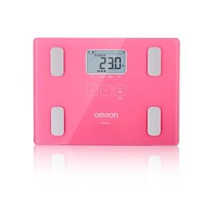 [当当自营欧姆龙(OMRON)体重脂肪测量仪HBF-212 P 玫红 脂肪秤 电子秤 健康体脂仪(团购可咨询:010-57993483)