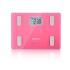 [当当自营欧姆龙(OMRON)体重脂肪测量仪HBF-212 P 粉色 脂肪秤 电子秤 智能健康体脂仪