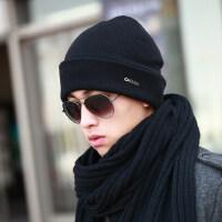 羊毛毛线帽男女帽子帽子男士帽子保暖潮毛线帽