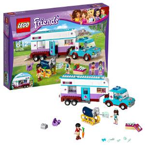 [当当自营]LEGO 乐高 Friends好朋友系列 马用房车 积木拼插儿童益智玩具41125