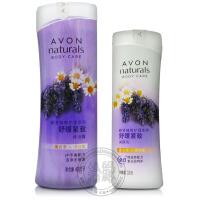 Avon/雅芳 植物护理系列 舒缓紧致沐浴露400ml+润肤乳200ml