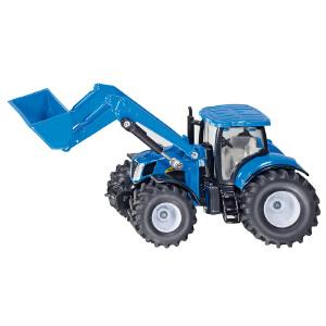 [当当自营]siku 德国仕高 1:50 新荷兰拖拉机带前装载臂 合金车模玩具 U1986