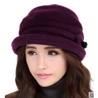 时尚羊毛呢帽韩版女礼帽   新款帽子女款