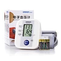 OMRON欧姆龙血压计HEM-8102A 电子上臂式全自动电子血压计 自动加压 14次记忆功能