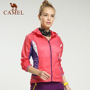 camel骆驼户外皮肤风衣 女款 春季新款透气快干皮肤衣