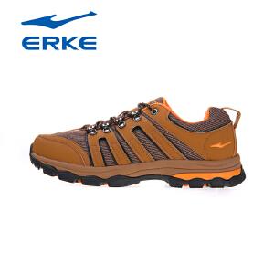 鸿星尔克erke户外登山鞋男休闲运动鞋远足户外鞋