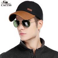 2016新品CACUSS新品撞色棒球帽男士帽子休闲运动帽子春四季棒球帽子可调节B0087