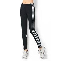 户外休闲运动健身裤女跑步运动裤收腿训练裤小脚速干透气弹力紧身裤