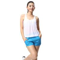 广场舞服装健身操服 女套装健美操套装女士休闲短袖运动背心