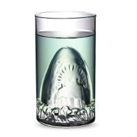 个性创意杯子 大鲨鱼杯红酒杯 啤酒杯 白酒杯 玻璃杯透明水酒杯