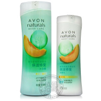 Avon/雅芳 植物护理系列 保湿修复沐浴露400ml+润肤乳200ml