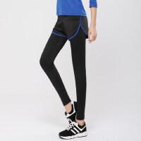 户外运动弹力短裤紧身裤假两件女款健身压缩裤跑步运动长裤
