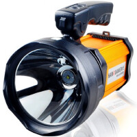 手电筒60W强光可充电户外探照灯远程远射狩猎防水手提灯30W