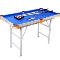 儿童美式球乒乓球桌面 斯诺克 家用 成人运动台球桌标准黑8台球桌