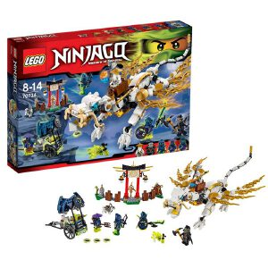 [当当自营]LEGO 乐高 NINJAGO幻影忍者系列 吴大师的白色神龙 积木拼插儿童益智玩具 70734